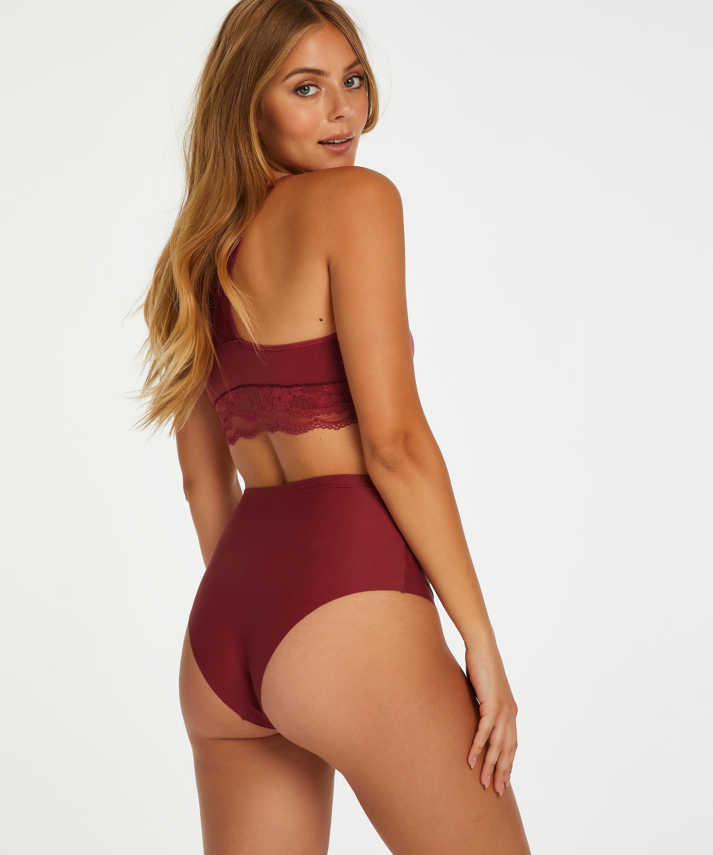 Invisible High-waist Brazilian, Rot, main