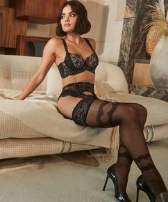 Stockings 15 Denier Elissa Lucy Hale, Schwarz