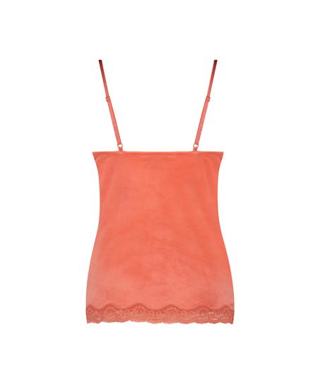 Cami Velours Spitze, Orange