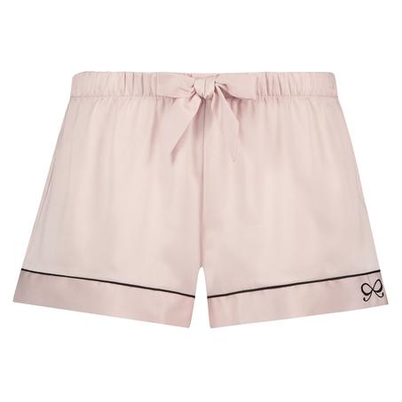 Pyjamashorts Satin Lace, Rose