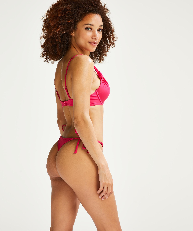 Push-up Bikini-Oberteil Luxe Cup A - E, Rose, main