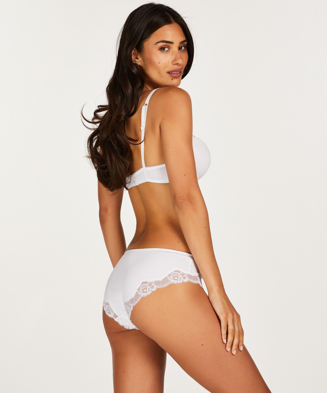 Slip Secret Lace, Weiß, main