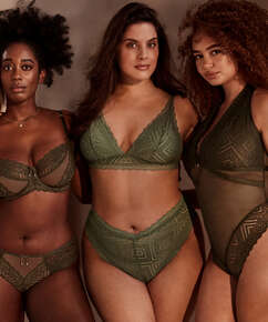 Hochgeschnittener Brazilian Filomena I AM Danielle, grün