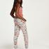 Tall Pyjamahose aus Jersey Sage, Grau