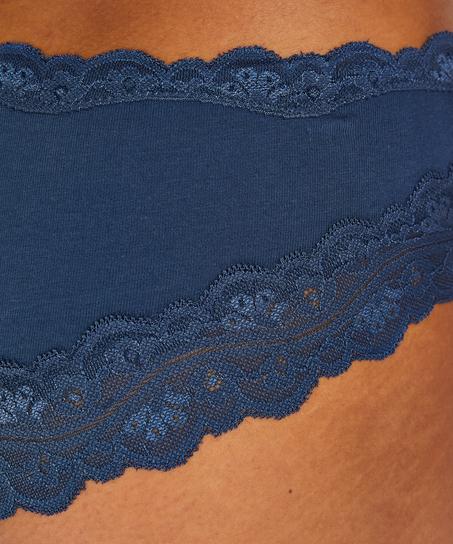 Brazilian Cotton, Blau