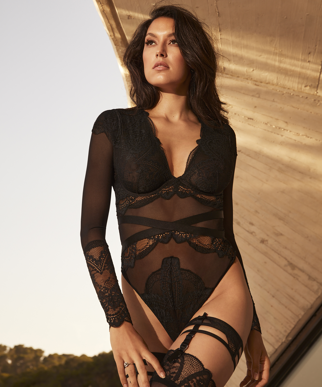 Body Lana Rebecca Mir, Schwarz, main
