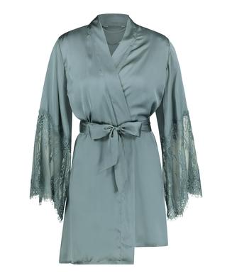 Kimono Satin, grün