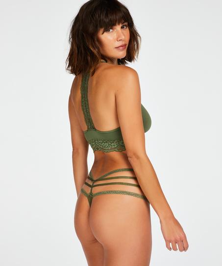Tiefer String Bonnie, grün