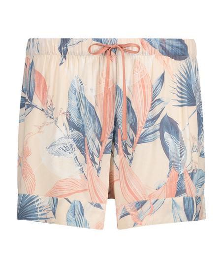Pyjama-Shorts, Beige
