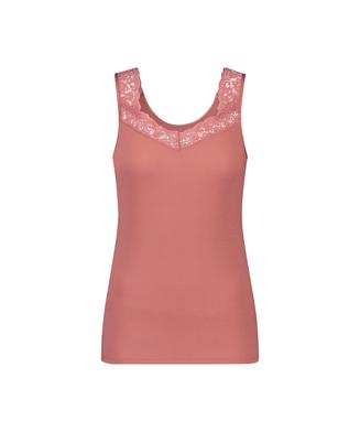 Hemdchen Ripp-Spitze, Rose