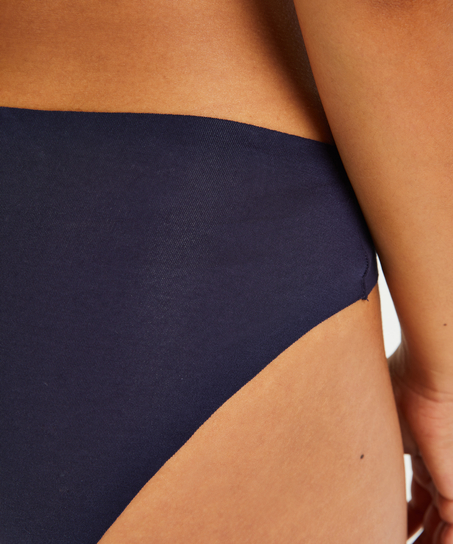 Invisible Slip Baumwolle, Blau