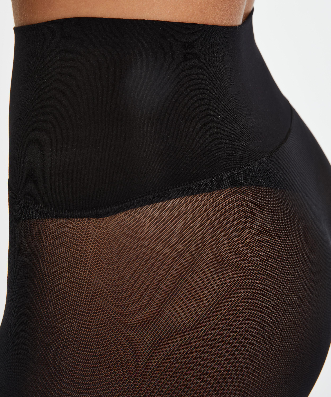 Panty 60 Denier Seamless, Schwarz, main