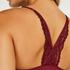 Nahtloser Bralette Rose, Rot