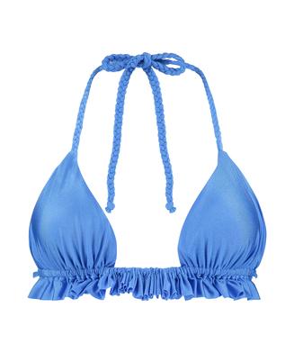 Triangle-Bikini-Top Suze, Blau