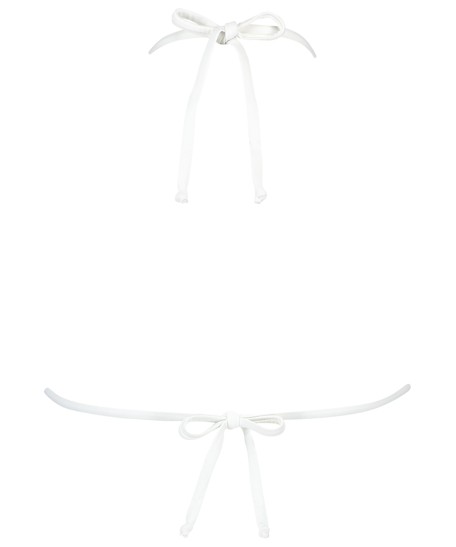 Triangle-Bikini-Top Maldives, Weiß, main