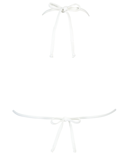 Triangle-Bikini-Top Maldives, Weiß