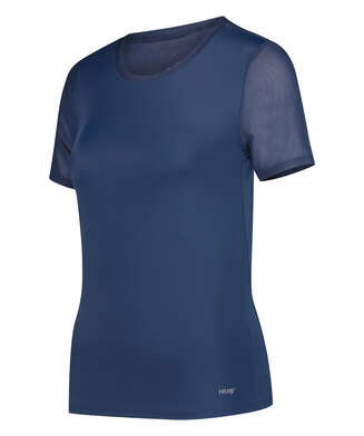 HKMX-Sportshirt Open Back, Blau