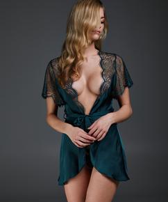 Kimono Cap Sleeve, grün