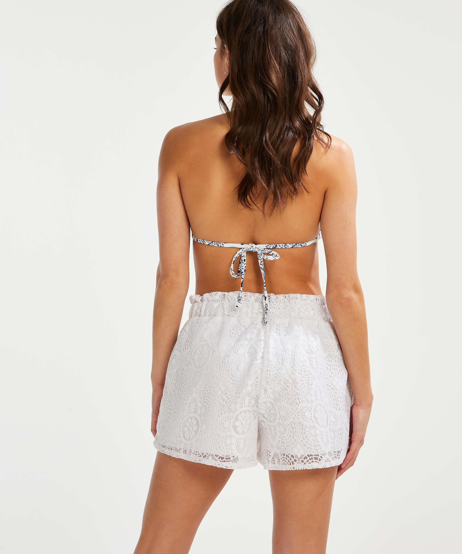 Lace kurze Hose, Weiß, main