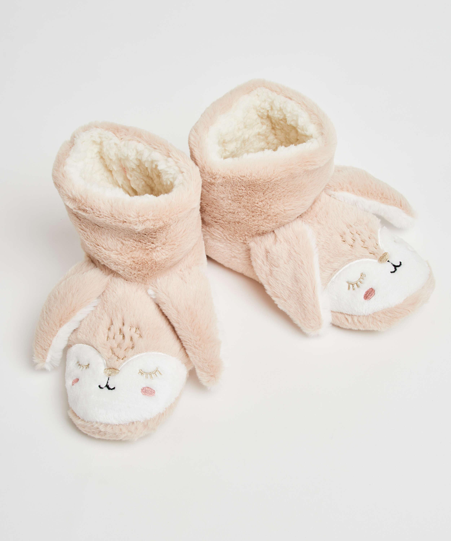 Pantoffeln Kaninchen, Beige, main