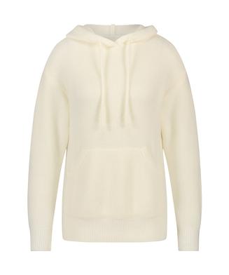 Premium Hoodie mit langen Ärmeln Fluffy, Weiß
