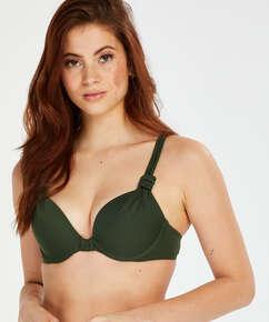 Push-up Bikini-Oberteil Luxe Cup A - E, grün