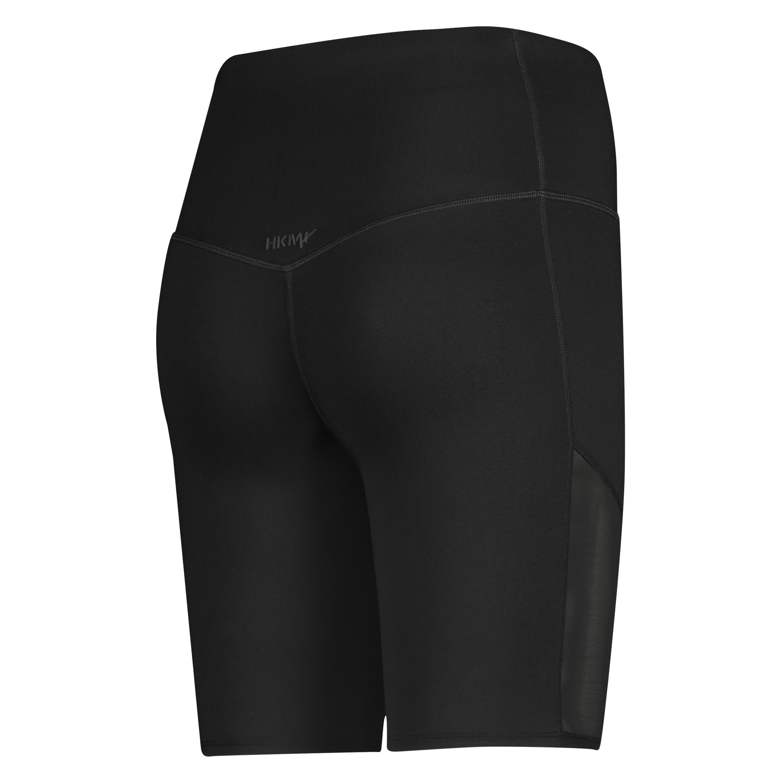 HKMX High Waisted Bike Shorts Level 3, Schwarz, main