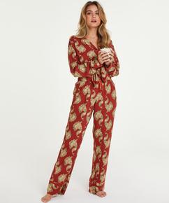 Petite Pyjamahose Woven, Rose