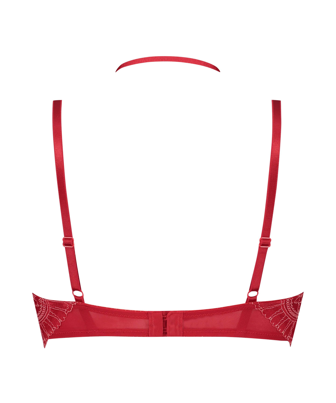 Vorgeformter Longline-Bügel-BH Coco, Rot, main