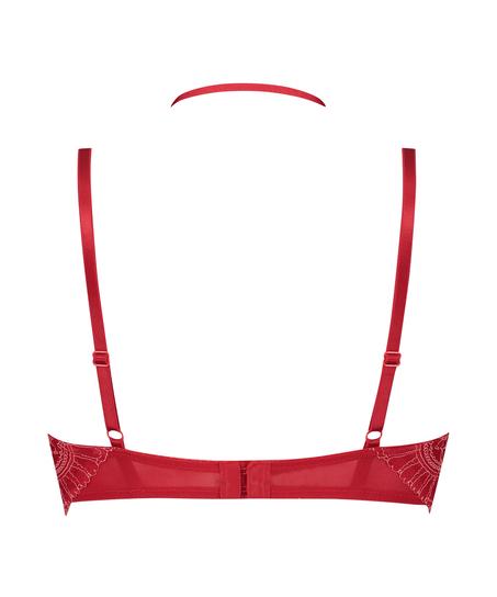 Vorgeformter Longline-Bügel-BH Coco, Rot