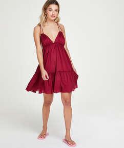 Strandkleid Tiered, Rot