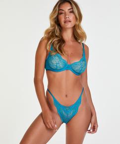 Unwattierter Bügel-BH Isabelle, Blau