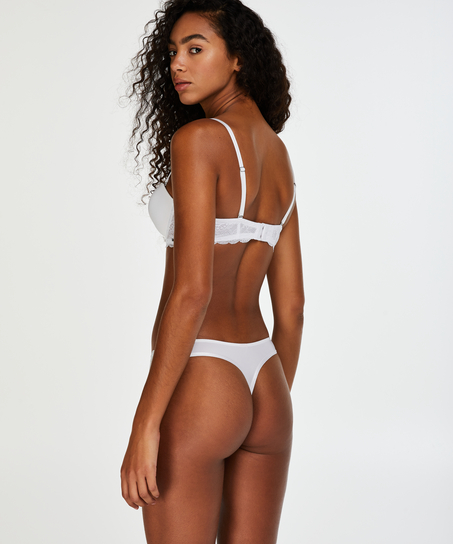 Vorgeformter Bügel-BH Angie, strapless, Weiß