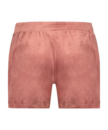 Shorts Velours Pocket, Rose