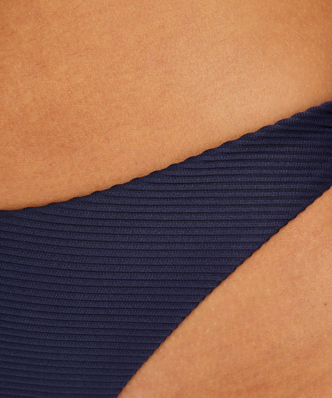 Brazilian Bikini-Slip mit hohem Beinausschnitt Harper, Blau, main