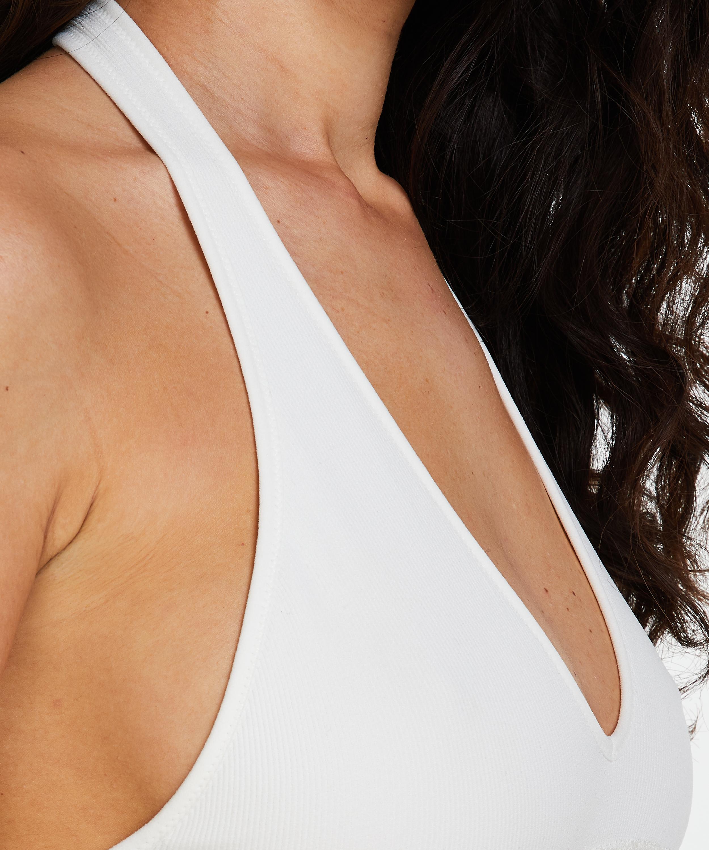 Nahtloser Bralette Shiloh, Weiß, main