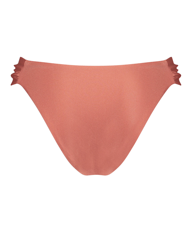 Bikinihose Bonita mit hohem Beinausschnitt, Orange, main
