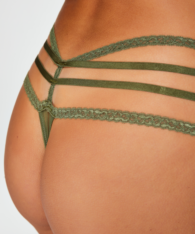 Tiefer String Bonnie, grün, main