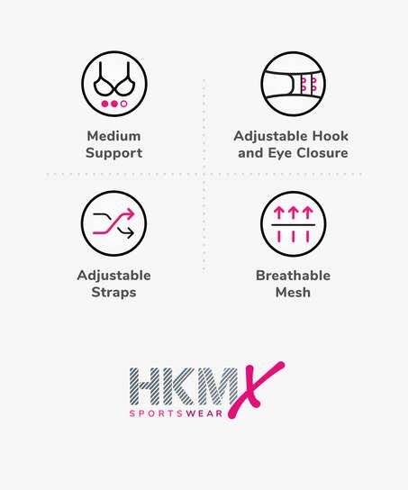 HKMX Sport-BH The All Star Level 2, Grau