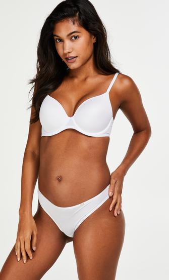 Vorgeformter Bügel-BH Super soft, Weiß