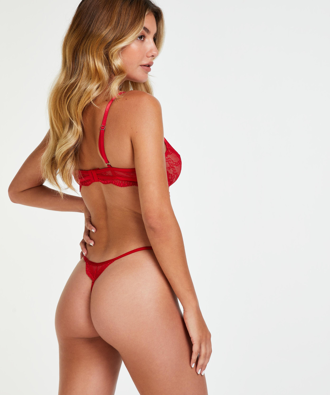 Unwattierter Bügel-BH Isabelle, Rot, main