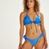 Hoch ausgeschnittener Bikini-Slip Suze, Blau