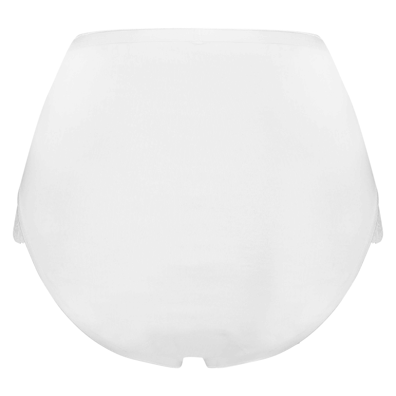 Superslip Lace Maxi baumwolle, Weiß, main