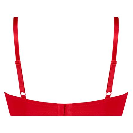 Vorgeformter Bügel-BH Plunge, Rot