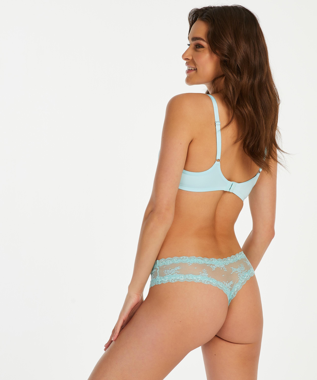 Brazilian V-shape mesh, Blau, main