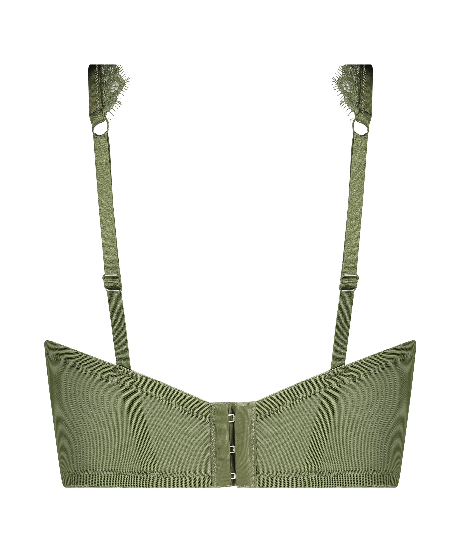 Unwattierter Bügel-BH Marilee, grün, main
