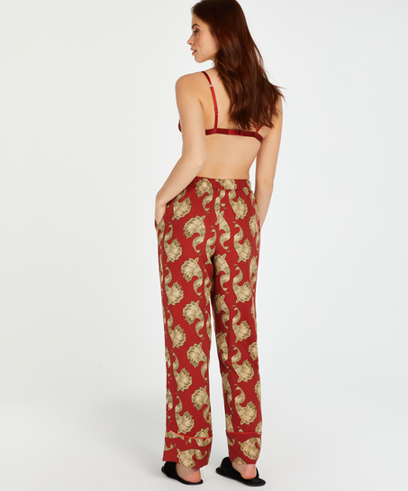 Pyjamahose Woven, Rose