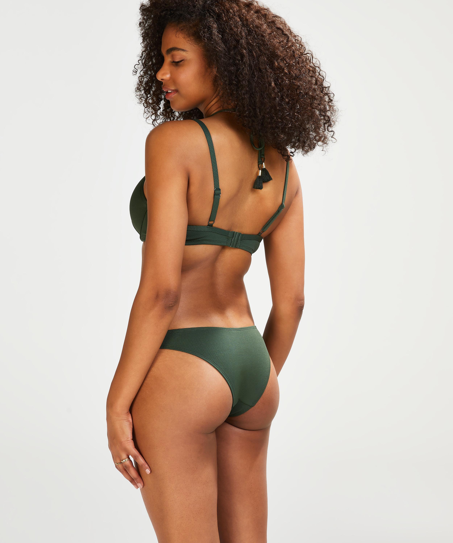 Frecher Bikini-Slip Scallop Glam, grün, main
