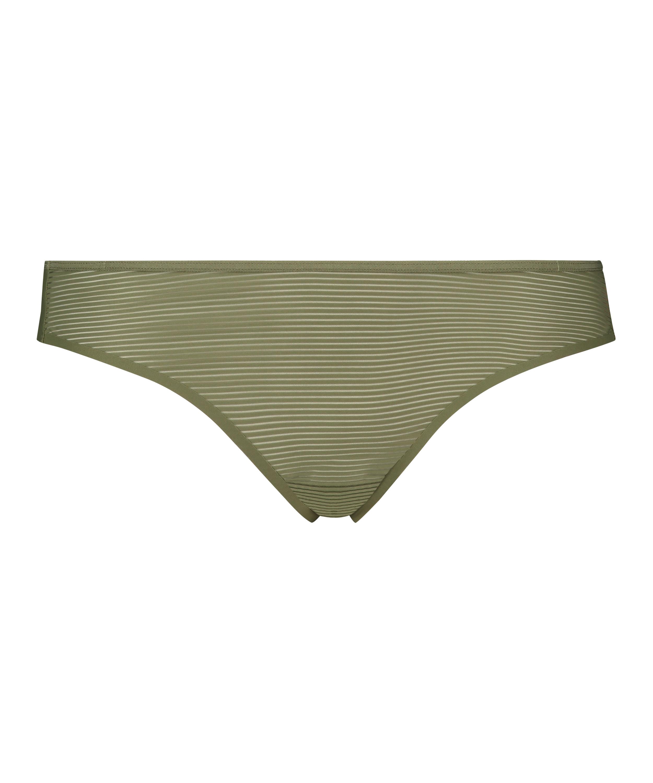 Invisible String Stripe Mesh , grün, main