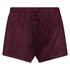 Shorts Velours, Rot